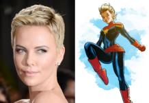 Charlize Theron - Capitana Marvel