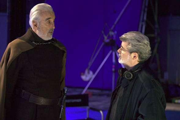 Christopher Lee - George Lucas