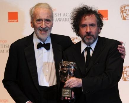 Christopher Lee - Tim Burton
