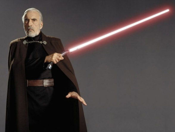 Christopher Lee - Conde Dooku