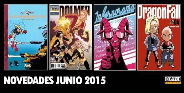 Novedades Dolmen junio 2015