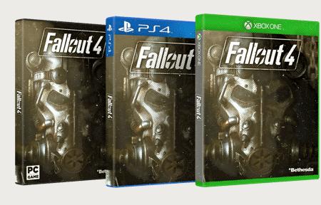 Fallout 4 - caratula