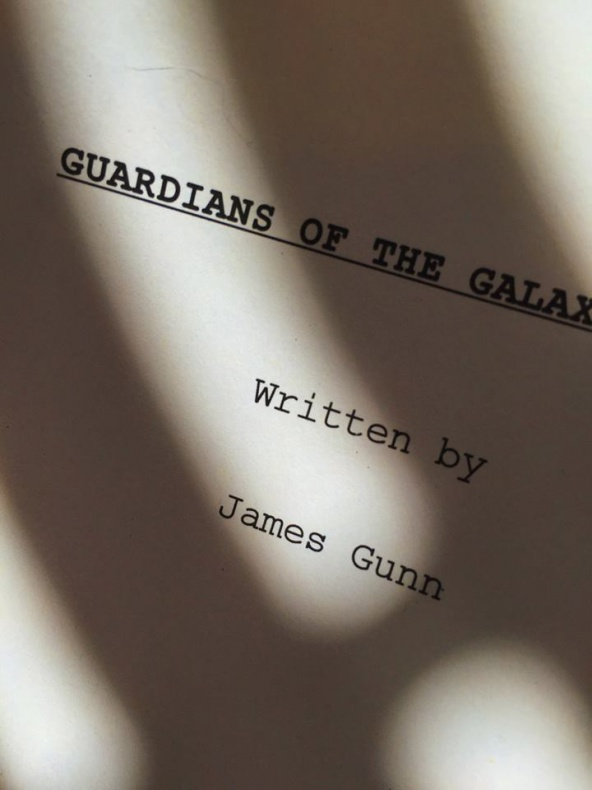 Guardians of the Galaxy 2 - First draft cover