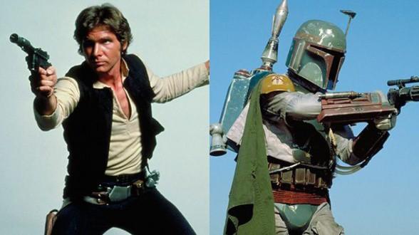 Han Solo Boba Fett