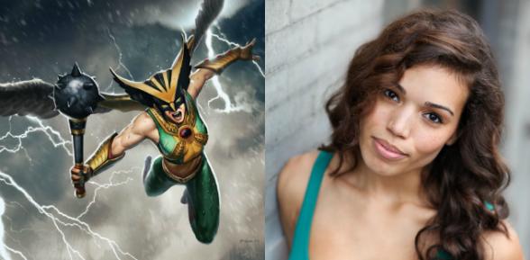 Hawkgirl - Ciara Renée