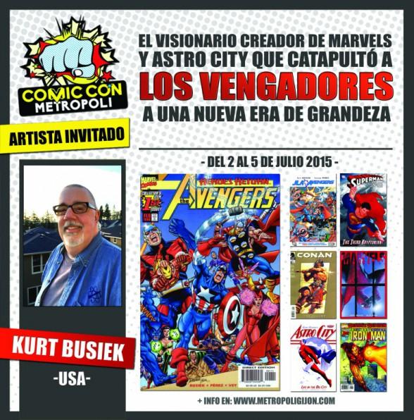 Kurt Busiek Metrópoli Comic Con