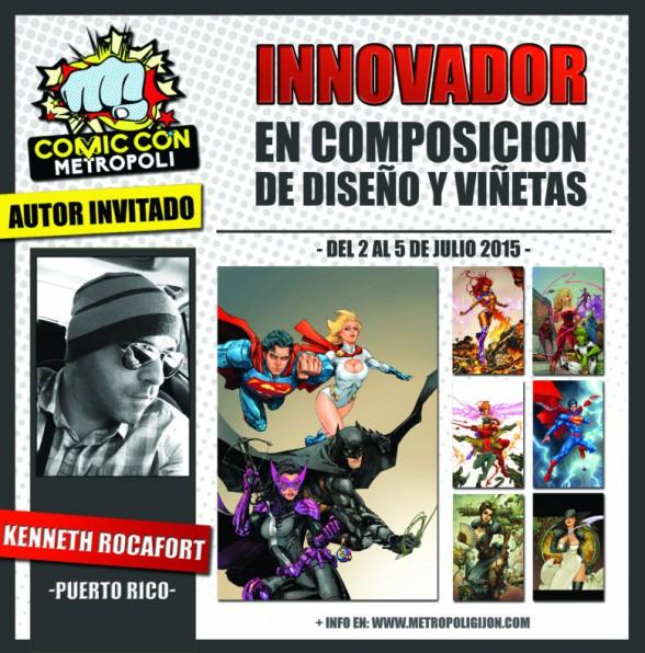 Kenneth Rocafort Metrópoli Comic Con