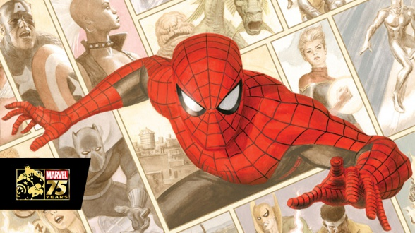 Marvel 75 años (detalle)