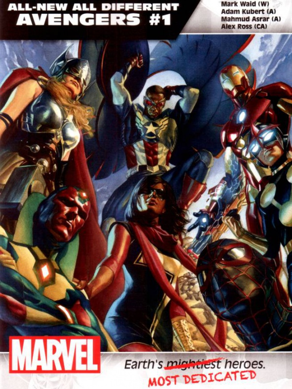 Marvel All New All Different Avengers