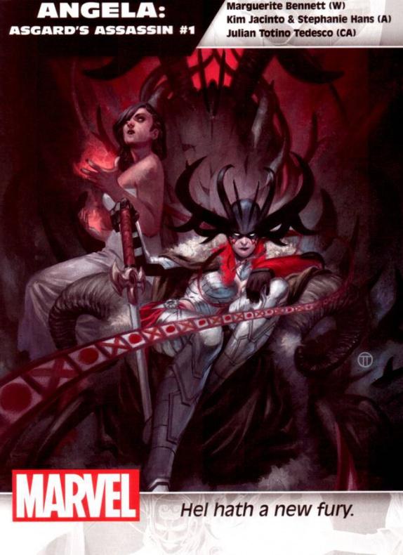 Marvel Angela Asesina de Asgard