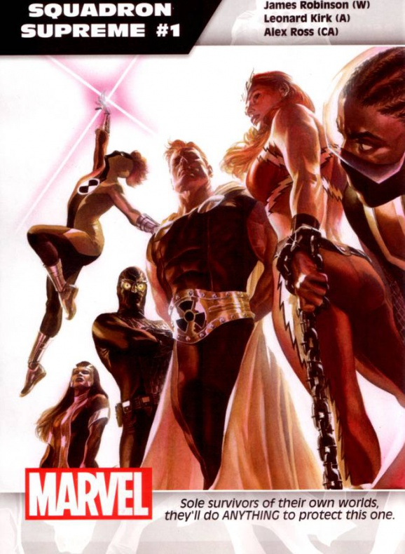 Marvel Escuadrón Supremo