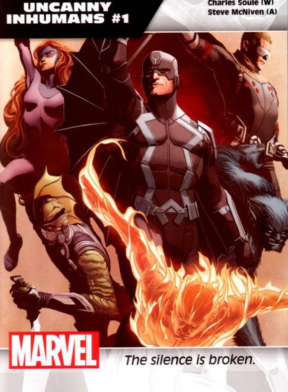 Marvel Imposibles Inhumanos
