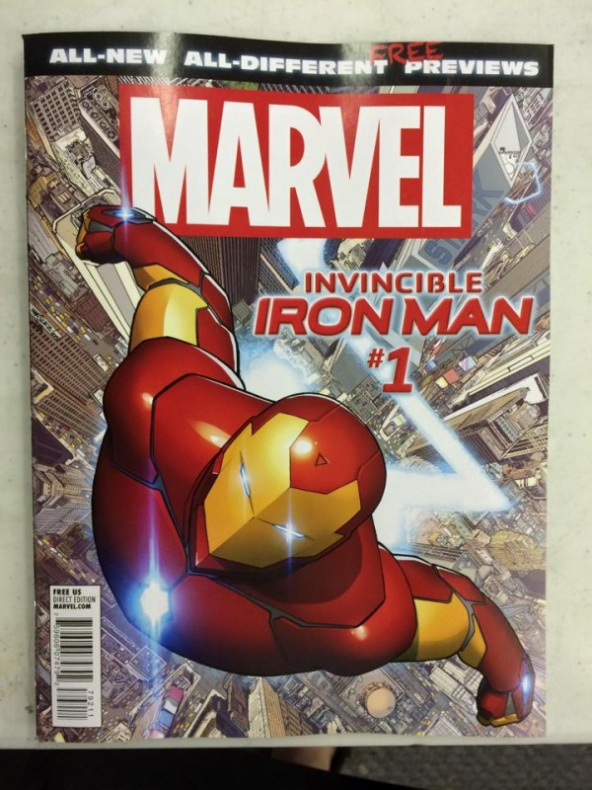 Marvel Invencible Iron Man