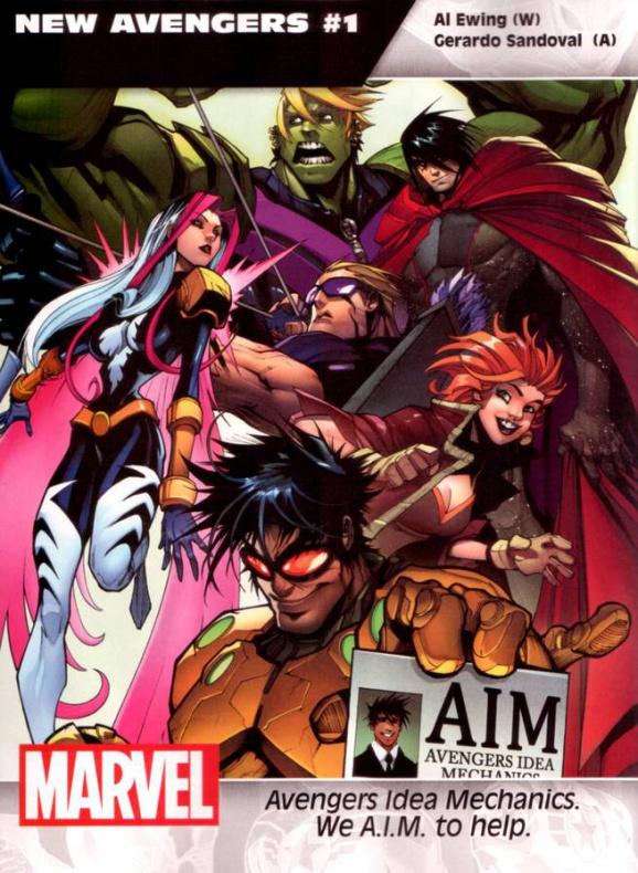 Marvel Nuevos Vengadores