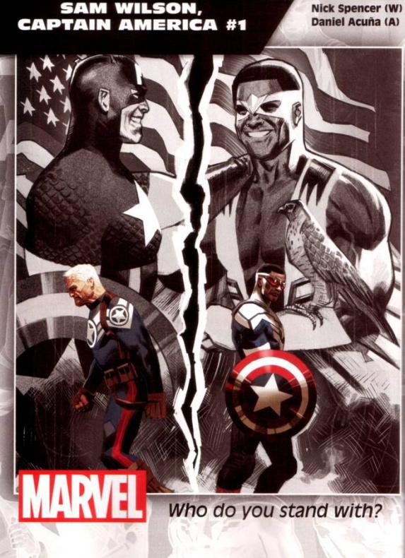 Marvel Sam Wilson Capitán América