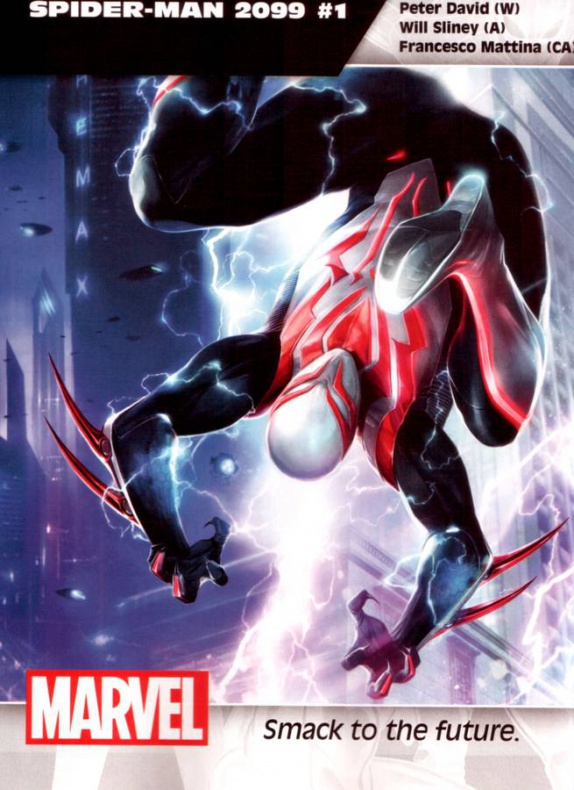 Marvel Spiderman 2099