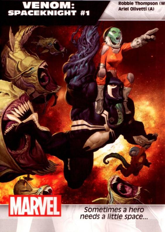 Marvel Venom Caballero del espacio