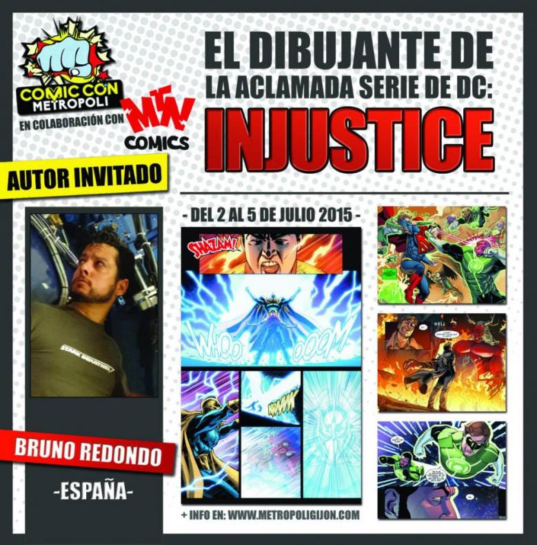 Metrópoli Comic Con Bruno Redondo