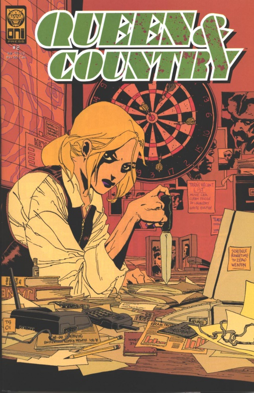 Queen and Country Greg Rucka