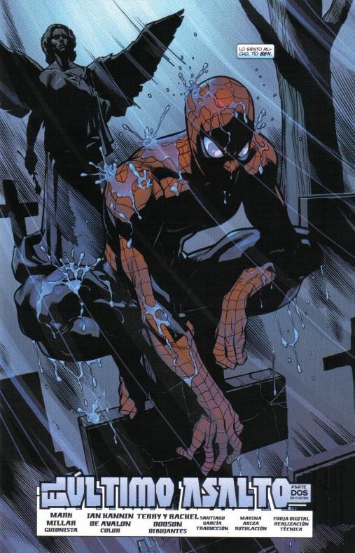 Spiderman Mark Millar