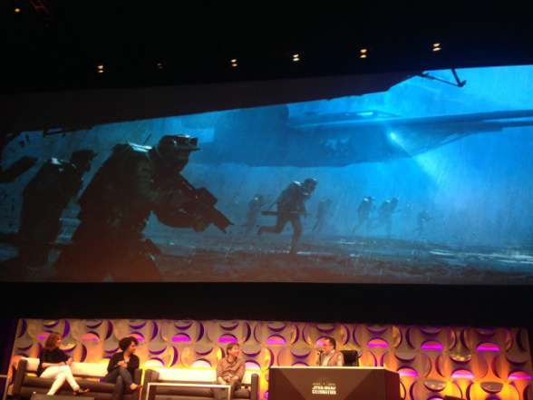 Star Wars Rogue One - imagen de la SW Celebration