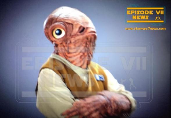Star Wars: el despertar de la fuerza nuevas imágenes Ackbar