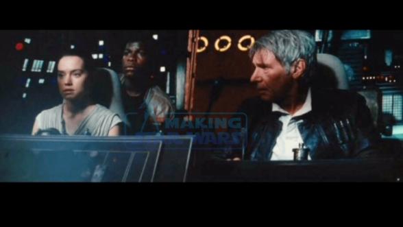 Star Wars: el despertar de la fuerza nuevas imágenes Halcón Milenario
