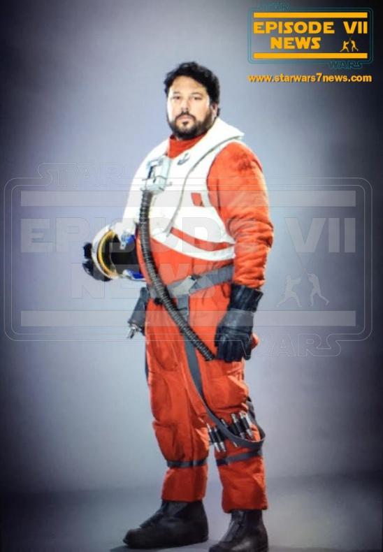 Star Wars: el despertar de la fuerza nuevas imágenes Piloto Rebelde