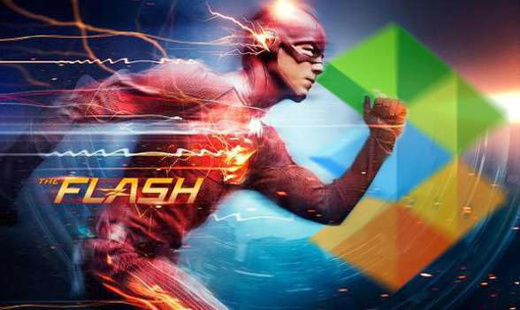 The Flash en Atresmedia