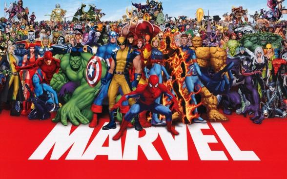 X-Men se quedan fuera del poster y juegos de Marvel poster antiguo