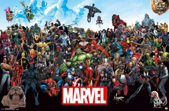 X-Men se quedan fuera del poster y juegos de Marvel poster nuevo