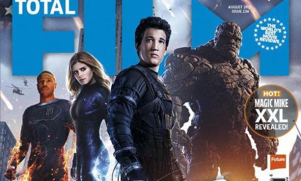 los 4 fantasticos portada total film