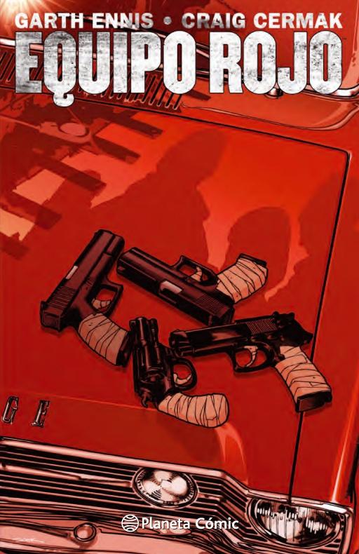 portada equipo rojo garth ennis