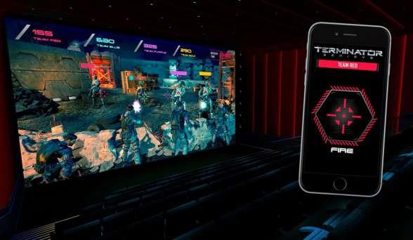 'Terminator Génesis' estrena el primer juego interactivo en cines