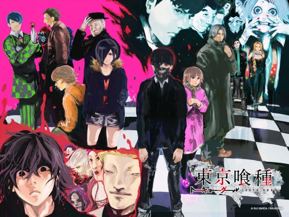tokyo ghoul personajes