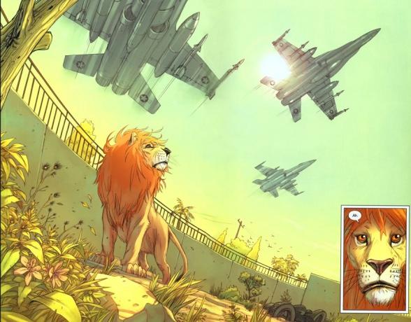 1 los leones de bagdad analisis critica reseña ecc ediciones brian k vaughan