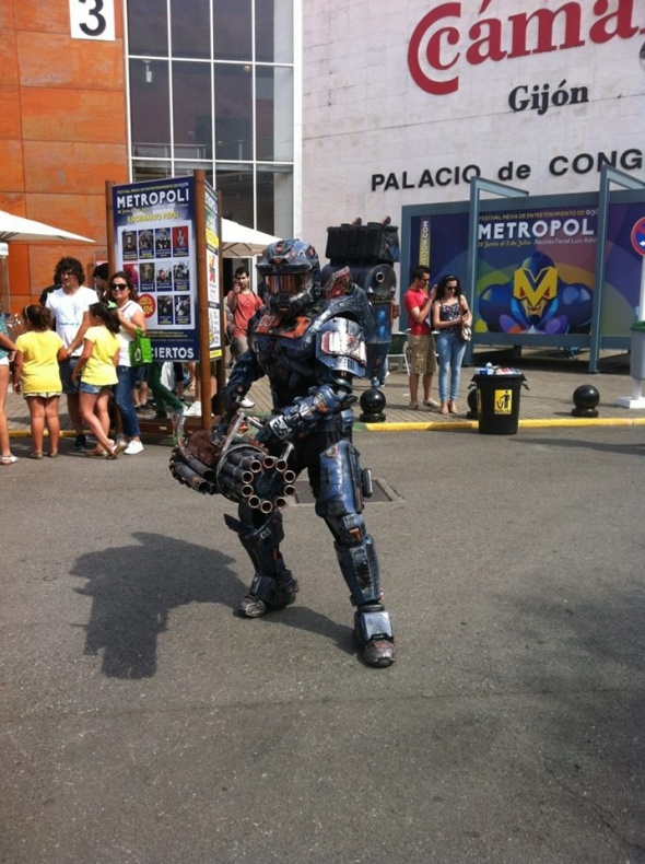 Metrópoli Comic Con Cosplayer