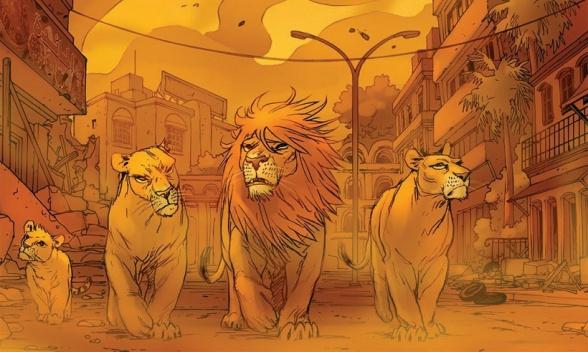 2-los-leones-de-bagdad-analisis-critica-reseña-ecc-ediciones-brian-k-vaughan