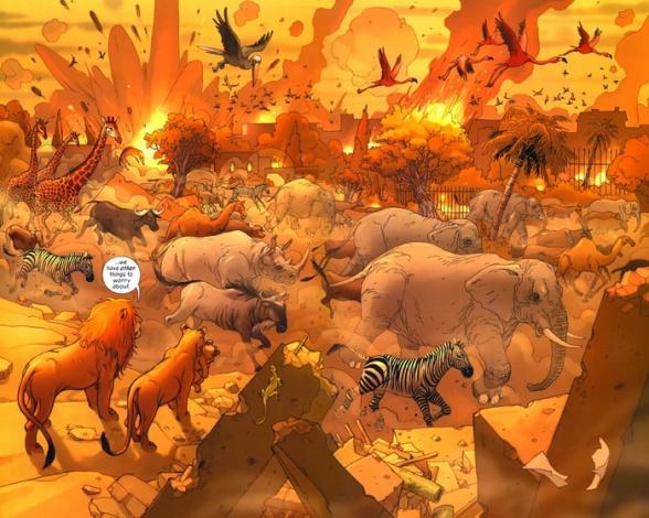 6 los leones de bagdad analisis critica reseña ecc ediciones brian k vaughan