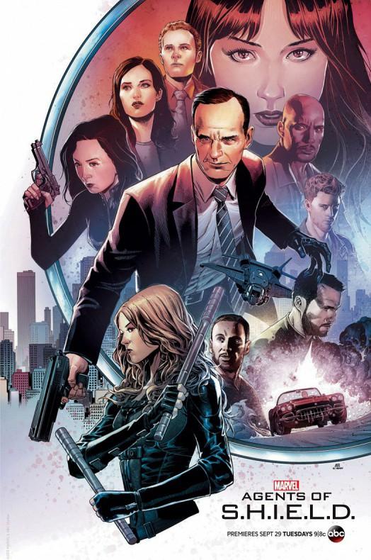 Agentes de SHIELD Temporada 3 Comic Con