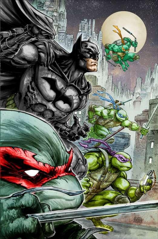 Batman tortugas ninja comic 1