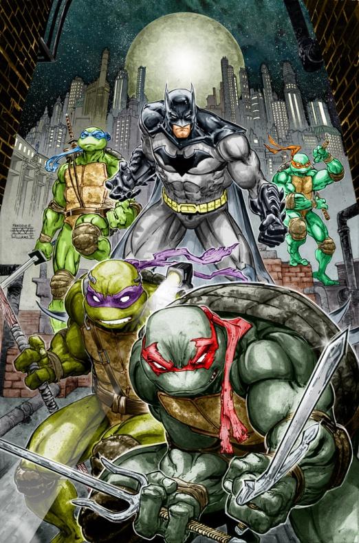 Batman tortugas ninja comic 2