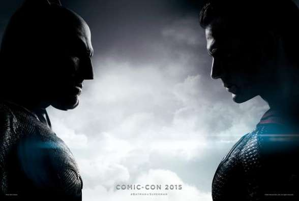 Batman v Superman póster SDCC