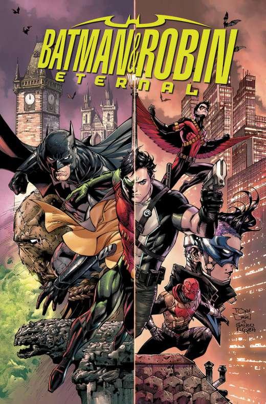 Batman y Robin Eternos portada