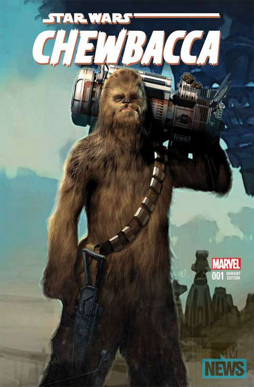 Cómic Chewbacca