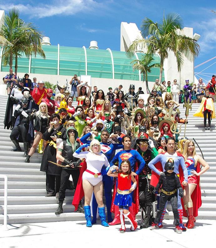 Cosplay San Diego Comic Con 76