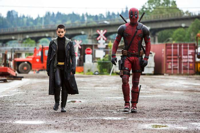 Deadpool y Negasonic Teenage Warhead
