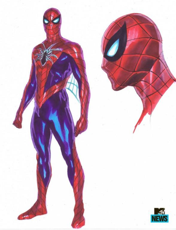 Diseño traje Spider-Man