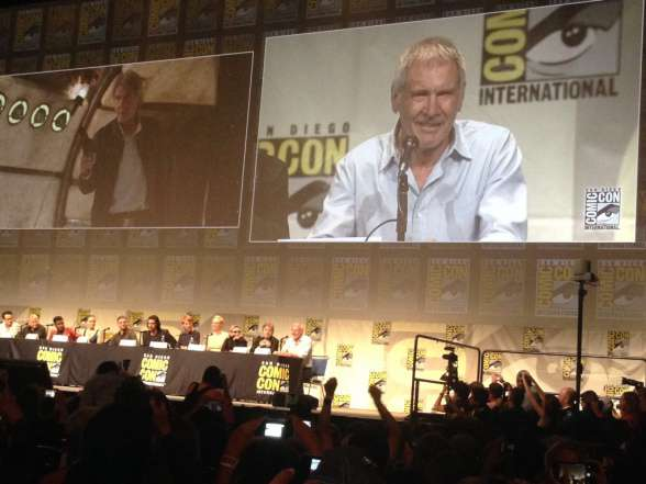 Harrison Ford SDCC Star Wars