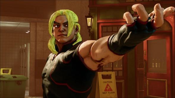 Ken Maters Street Fighter V